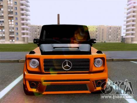 Mercedes-Benz G55 for GTA San Andreas back left view