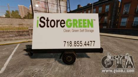 New billboards on wheels for GTA 4 forth screenshot