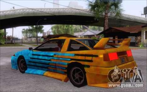 Uranus Fix for GTA San Andreas back view