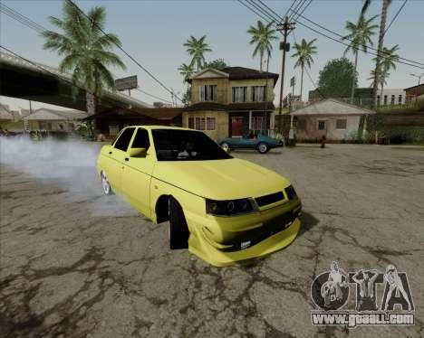 VAZ 2110 v2 for GTA San Andreas