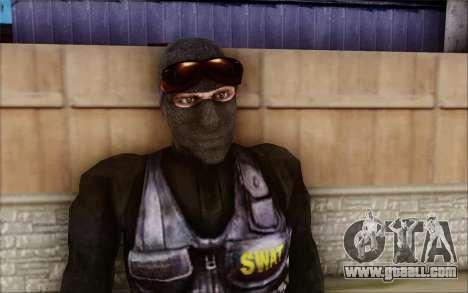 SWAT from Postal 2 for GTA San Andreas second screenshot