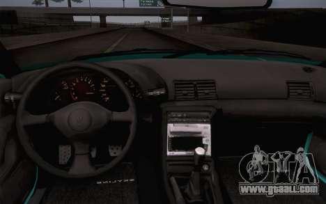 Nissan Skyline R32 Stella for GTA San Andreas back view