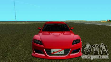 Mazda RX8 Type 1 for GTA Vice City left view