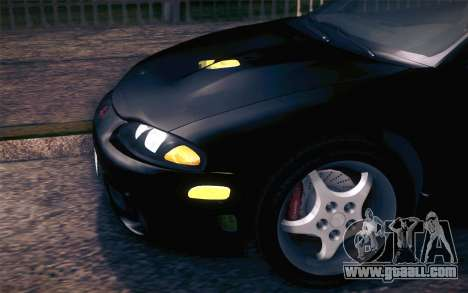 Mitsubishi Eclipse Fast and Furious for GTA San Andreas inner view