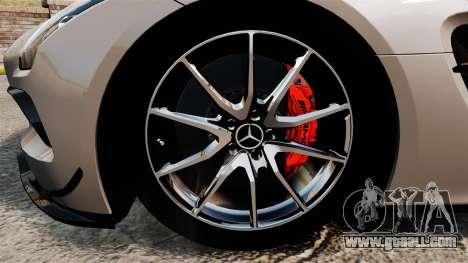 Mercedes-Benz SLS AMG Black Series 2014 for GTA 4 back view