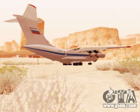 Il-76td v2.0 for GTA San Andreas back view