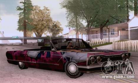 The painting work for Savanna for GTA San Andreas