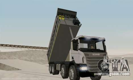 Scania P420 for GTA San Andreas upper view