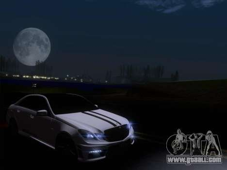 Mercedes-Benz E63 AMG 2011 Special Edition for GTA San Andreas bottom view