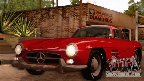 Mercedes-Benz 300SL Gullwing for GTA San Andreas left view