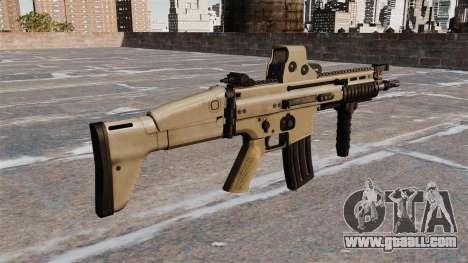 Assault rifles FN SCAR-L for GTA 4 second screenshot