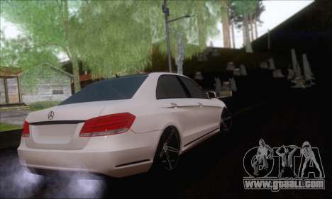 Mercedes-Benz W212 AMG for GTA San Andreas left view
