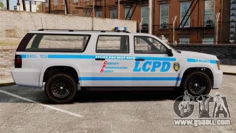 GTA V Declasse Police Ranger 3500PE [ELS] for GTA 4 left view