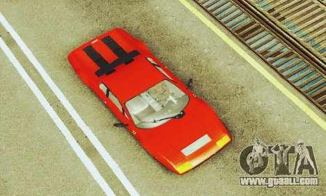 Ferrari 512 BB for GTA San Andreas side view