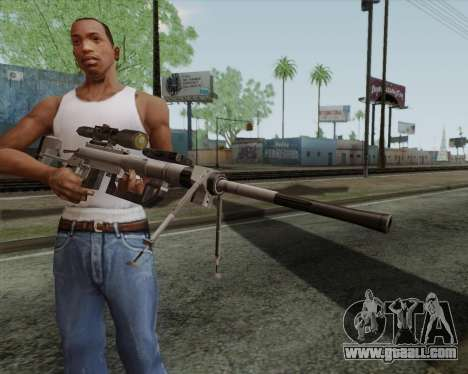 Sniper rifle in Call of Duty MW2 for GTA San Andreas