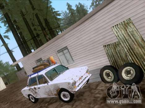 VAZ 21011 Cottage for GTA San Andreas back left view