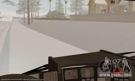Scania P420 for GTA San Andreas interior