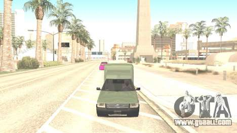 Fiat Fiorino Fire 07 for GTA San Andreas right view