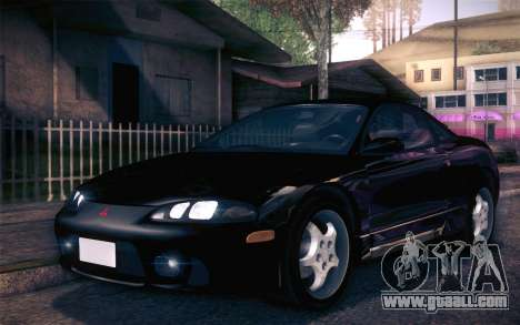 Mitsubishi Eclipse Fast and Furious for GTA San Andreas left view