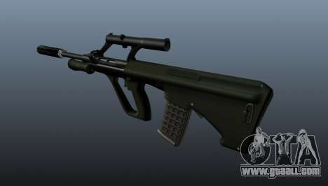 Steyr AUG automatic rifle for GTA 4 second screenshot