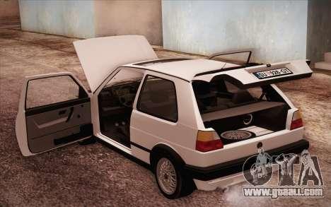 Volkswagen Golf Mk2 GTI for GTA San Andreas side view