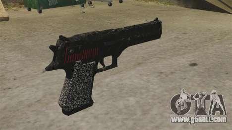 Desert Eagle Pistol Propa Gangsta for GTA 4 second screenshot