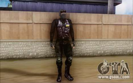 SWAT from Postal 2 for GTA San Andreas