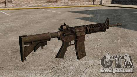 Semi-automatic AR-15 rifle for GTA 4 second screenshot