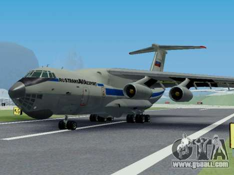 Il-76td v1.0 for GTA San Andreas