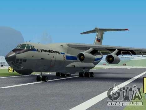 Il-76td v1.0 for GTA San Andreas