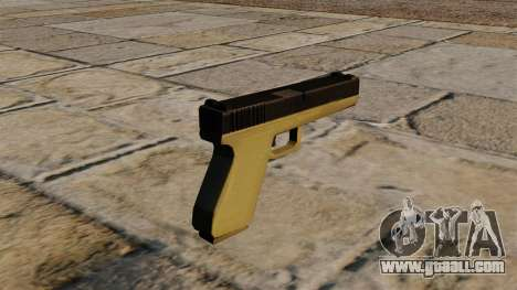 Bicoloured Glock for GTA 4 second screenshot