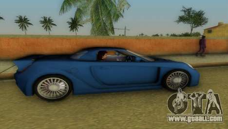 Toyota MR-S Veilside Hardtop for GTA Vice City back left view