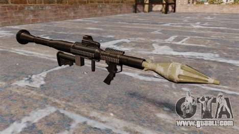 Anti-tank grenade launcher Airtronic USA21 for GTA 4