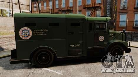 Military Enforcer for GTA 4 left view
