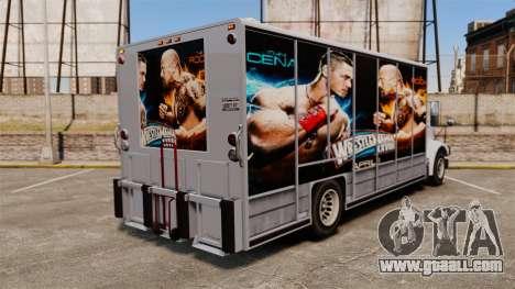 Stars of wrestling on Benson for GTA 4 back view