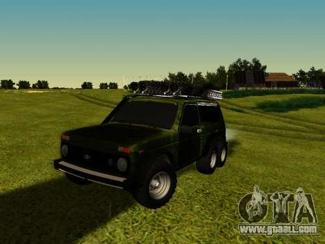 VAZ 212140 Hunter for GTA San Andreas