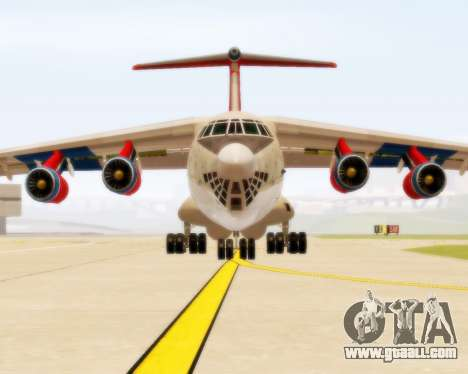 Il-76td Samara for GTA San Andreas left view