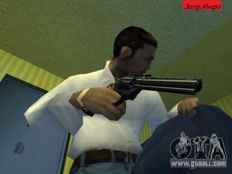 Colt Python for GTA San Andreas