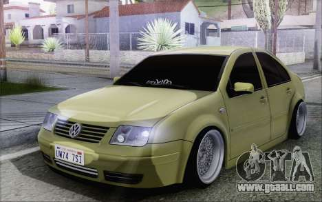 Volkswagen Bora Stance for GTA San Andreas