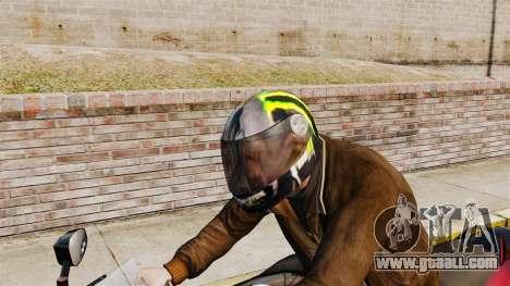 A collection of helmets Arai v2 for GTA 4 fifth screenshot