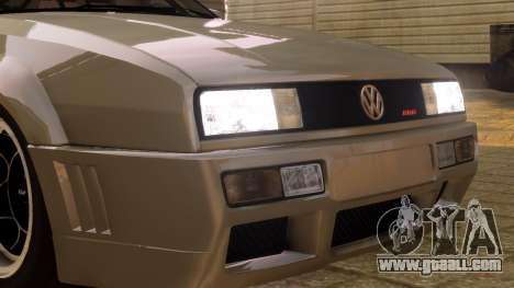 Volkswagen Corrado VR6 1995 for GTA 4 back view