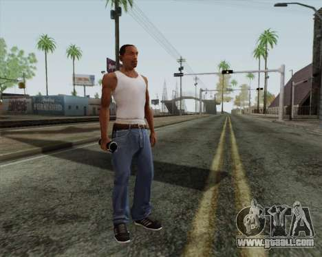 HD assault grenade for GTA San Andreas second screenshot