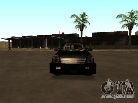 GMC Yukon ATTF for GTA San Andreas side view