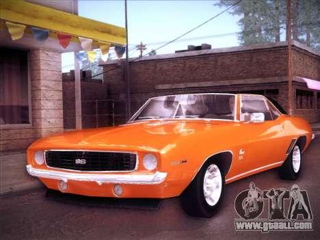 Chevrolet Camaro SS 1969 for GTA San Andreas