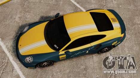 Porsche 911 Turbo 2014 [EPM] Alpinestars for GTA 4 right view