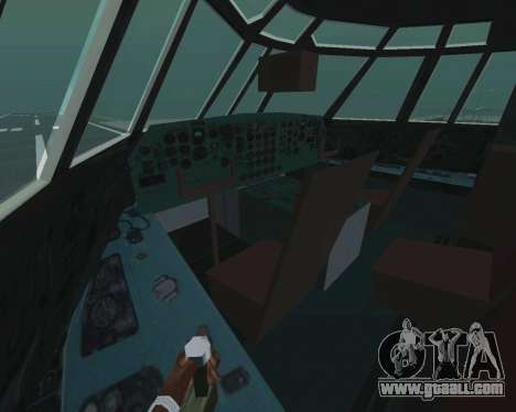Il-76td v1.0 for GTA San Andreas inner view