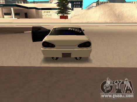 Elegy for GTA San Andreas back left view