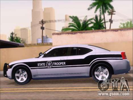 Dodge Charger San Andreas State Trooper for GTA San Andreas interior