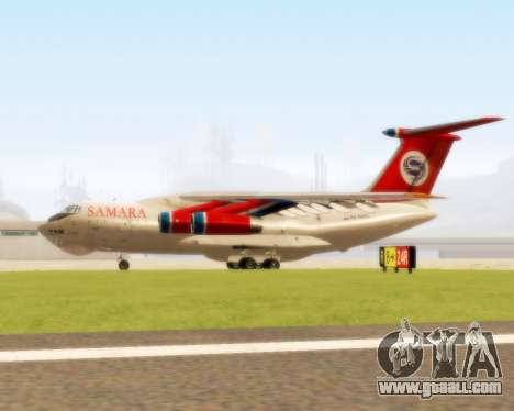 Il-76td Samara for GTA San Andreas back left view