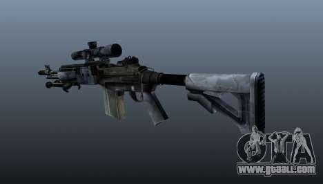Mk14 M21 sniper rifle v2 for GTA 4 second screenshot